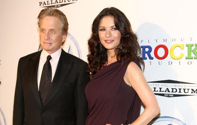 Michael Douglas i Catherine Zeta Jones, fot. Alberto E. Rodriguez  /Getty Images/Flash Press Media