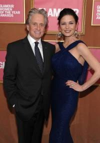 Michael Douglas i Catherine Zeta-Jones, fot. Dimitrios Kambouris   /Getty Images/Flash Press Media