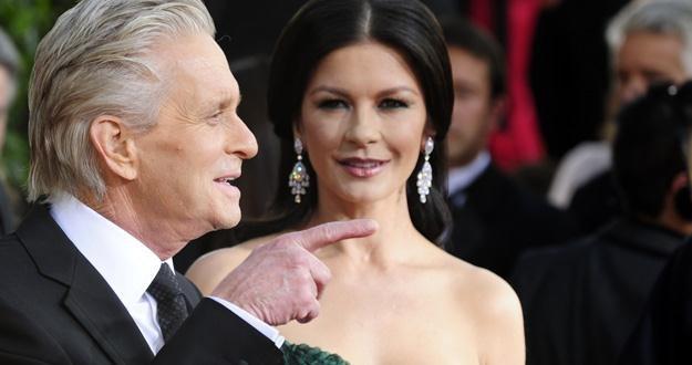 Michael Douglas i Catherine Zeta-Jones od 11 lat są małżeństwem /AFP