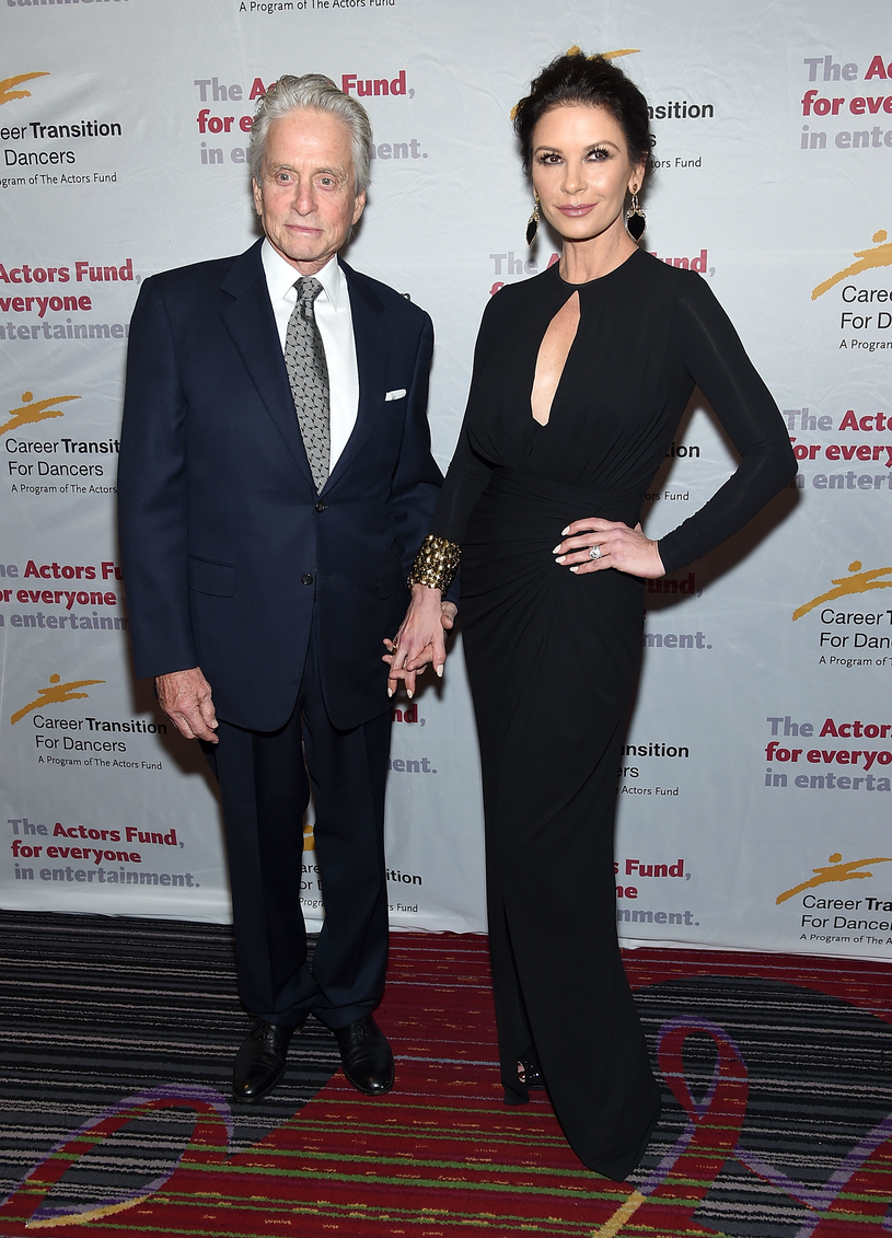 Michael Douglas i Catherine Zeta-Jones /Jamie McCarthy /Getty Images