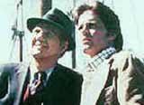 "Michael Douglas i Karl Malden w serialu ""Ulice San Francisco"" /"