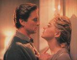 """Michael Douglas i Sharon Stone w """"Nagim instynkcie"""" /"""