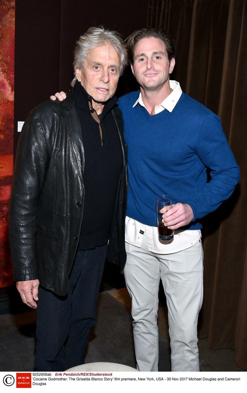 Michael Douglas z synem Cameronem /Erik Pendzich/REX/Shutterstock /East News