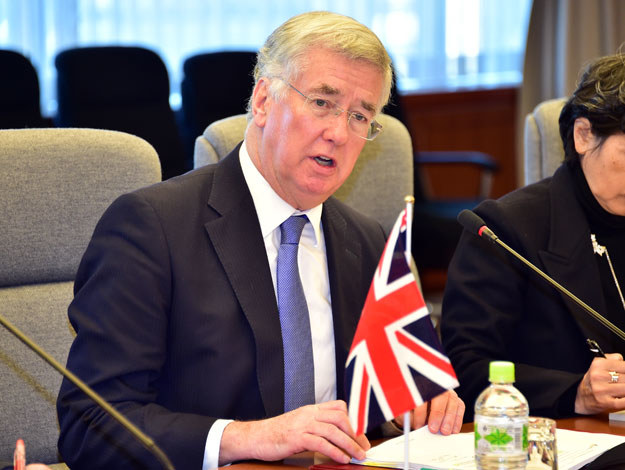 Michael Fallon /AFP