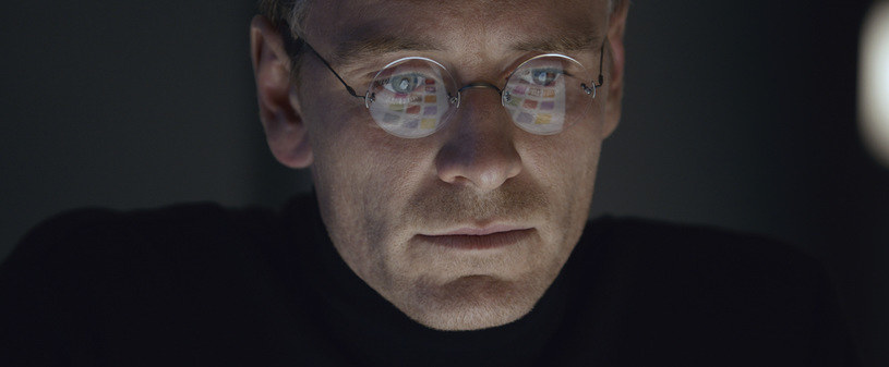 "Michael Fassbender w filmie ""Steve Jobs"" /materiały dystrybutora"