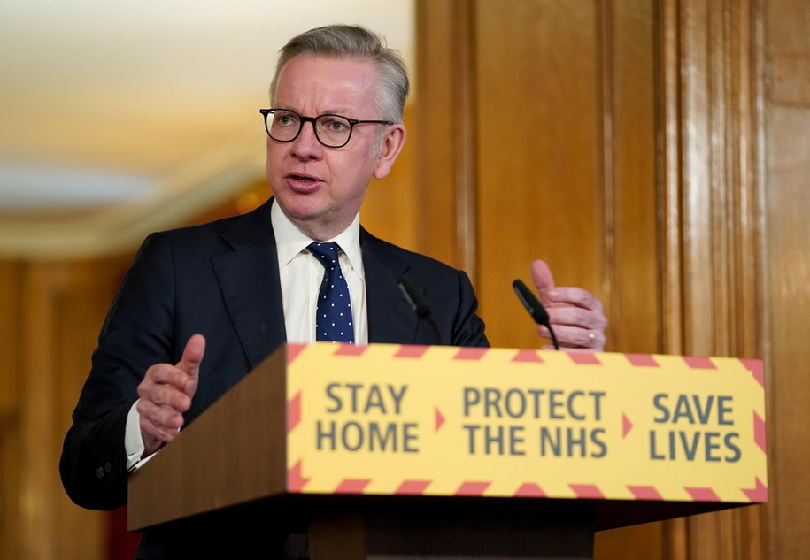 Michael Gove /DOWNING STREET HANDOUT /PAP/EPA
