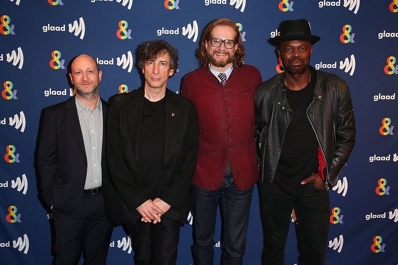 Michael Green, Neil Gaiman, Bryan Fuller, Chris Obi /Joe Scarnici /Getty Images