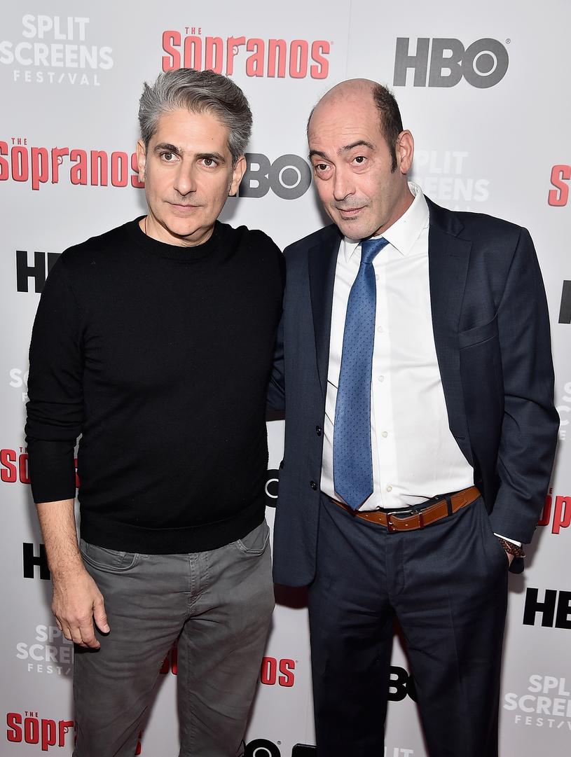 Michael Imperioli(Christopher Moltisanti) i John Ventimiglia (Artie Bucco) /Getty Images