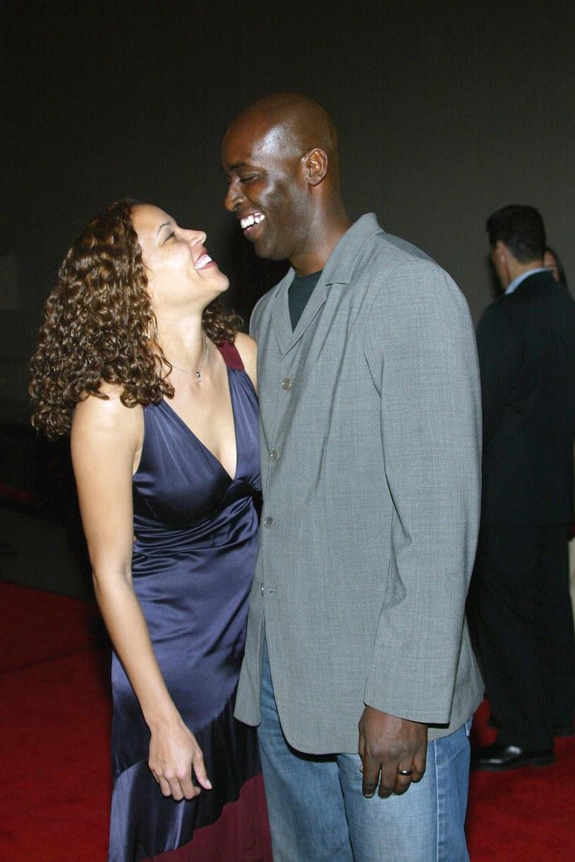 Michael Jace z żoną April /Frederick M. Brown /Getty Images