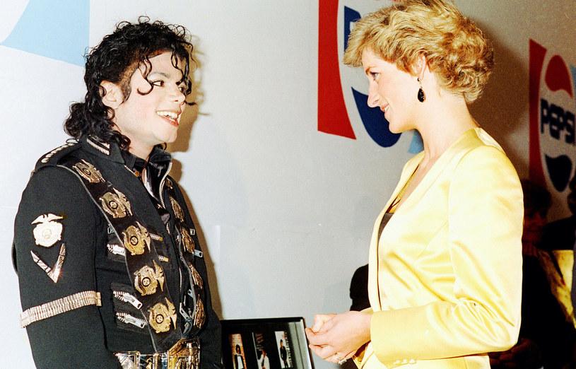 Michael Jackson i Diana w 1988 roku /Gill Allen/REX/Shutterstock  /East News