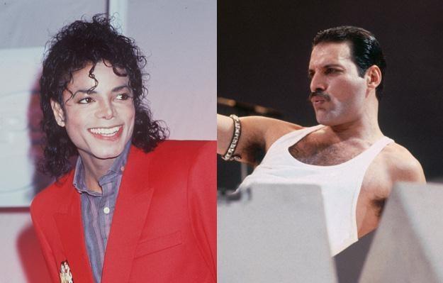 Michael Jackson i Freddie Mercury nagrywali razem - fot. Dave Hogan /Getty Images/Flash Press Media