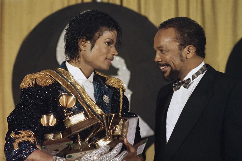 Michael Jackson i Quincy Jones /AP Photo/Doug Pizac/Saxon /East News