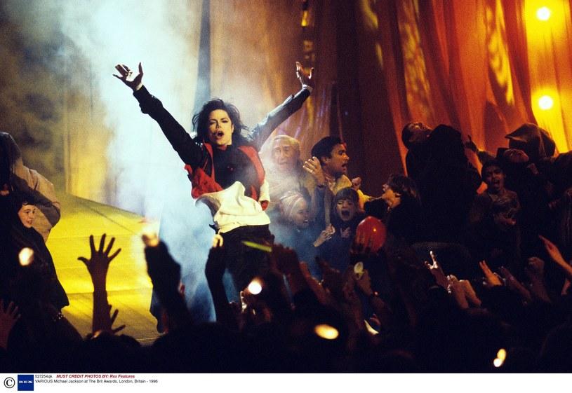 Michael Jackson na Brit Awards 1996 /Rex Features /East News