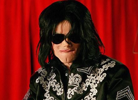 Michael Jackson na konferencji w Londynie /arch. AFP