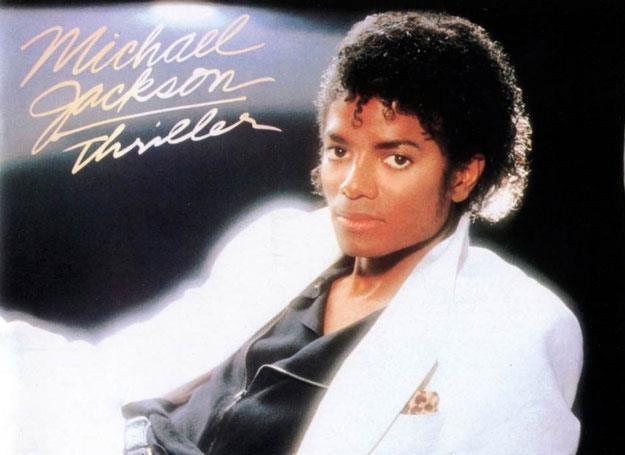 "Michael Jackson na okładce ""Thriller"" /"