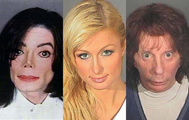 Michael Jackson, Paris Hilton, Phil Spector  /Splashnews