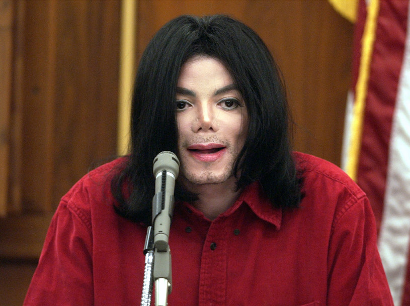 Michael Jackson podczas procesu w 2005 roku /Pool /Getty Images
