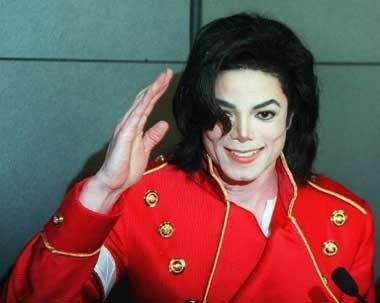 """Michael Jackson w """"mniej"""" męskim wydaniu /AFP"""