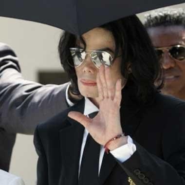 Michael Jackson żegna się z parkiem zabaw /arch. AFP