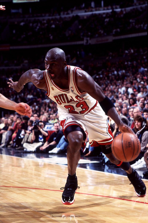 Michael Jordan był jedną z największych gwiazd w dziejach NBA /Getty Images