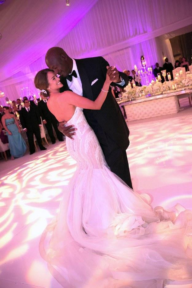 Michael Jordan i Yvette Prieto /AFP
