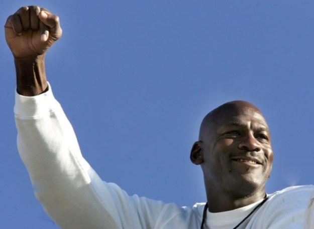 Michael Jordan, jedna z gwiazd igrzysk w Barcelonie /AFP