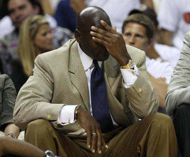 Michael Jordan ma powody do zmartwienia /AFP