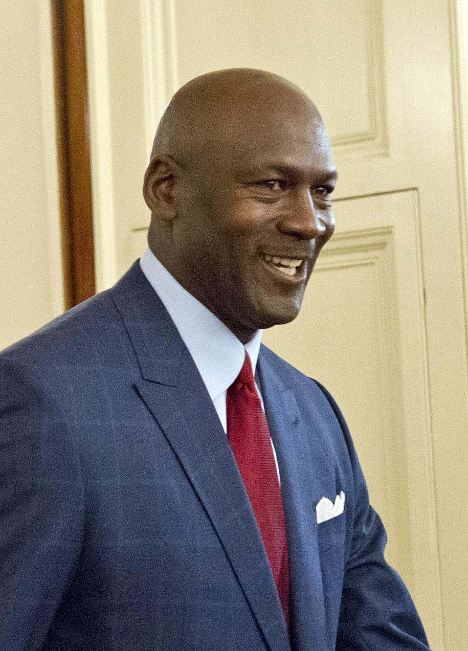 Michael Jordan /PAP/DPA/Consolidated News Photos /PAP