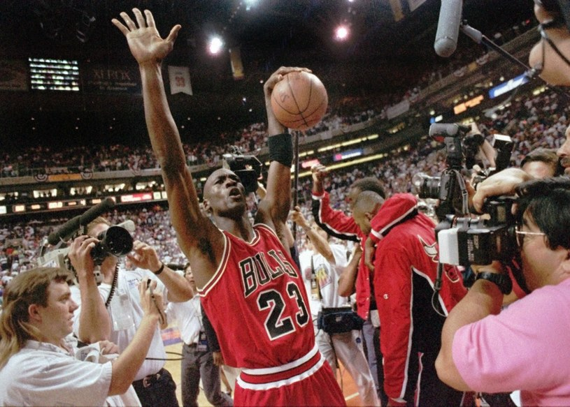 Michael Jordan /fot. JOHN SWART /East News