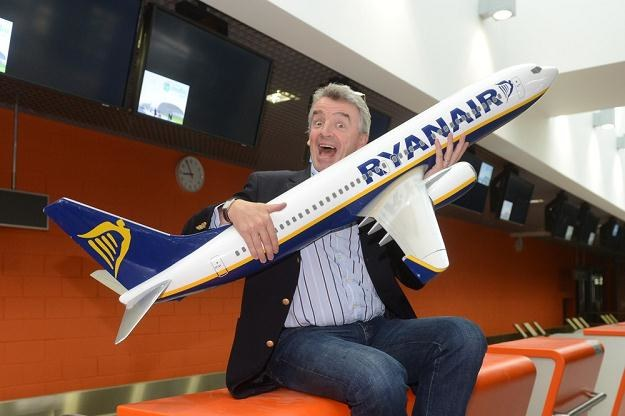 Michael O'Leary, prezes zarządu Ryanair, fot. Piotr Bławicki /Agencja SE/East News