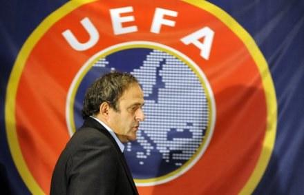 Michael Platini po raz pierwszy dopuścił możliwość organizacji Euro 2012 tylko w Polsce /AFP