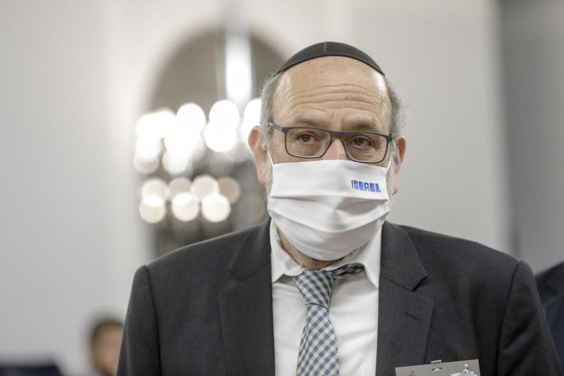 Michael Schudrich /Grzegorz Banaszek /Reporter