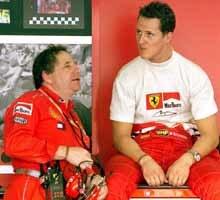 Michael Schumacher był dzisiaj ósmy /poboczem.pl