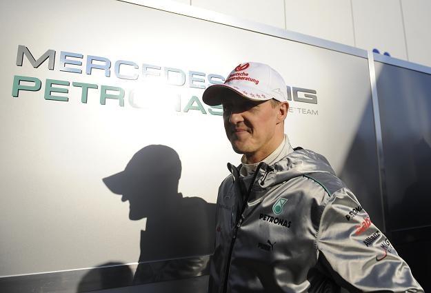 Michael Schumacher czeka na nowy bolid. /AFP