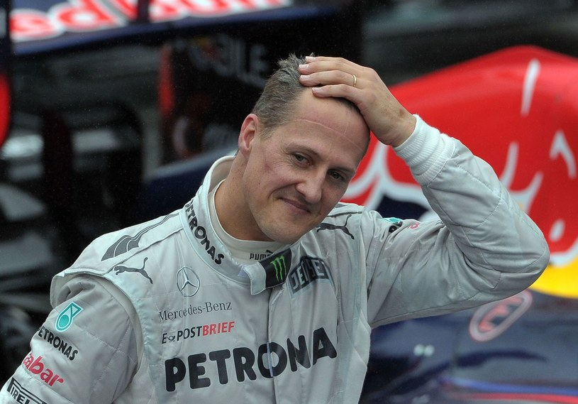 Michael Schumacher, jakie pamiętamy już nie ma - twierdzą lekarze /AFP