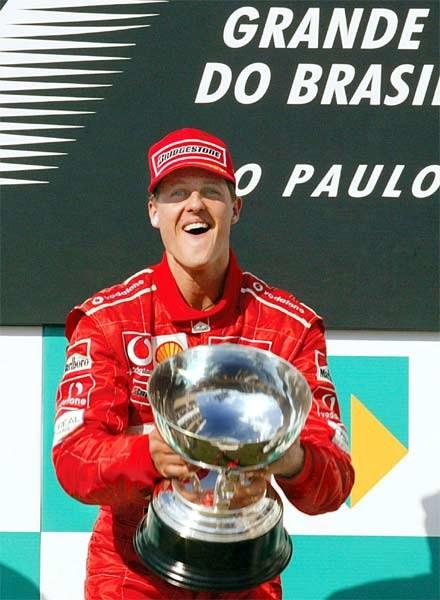 Michael Schumacher w nowym Ferrari nie dał szans rywalom /INTERIA.PL