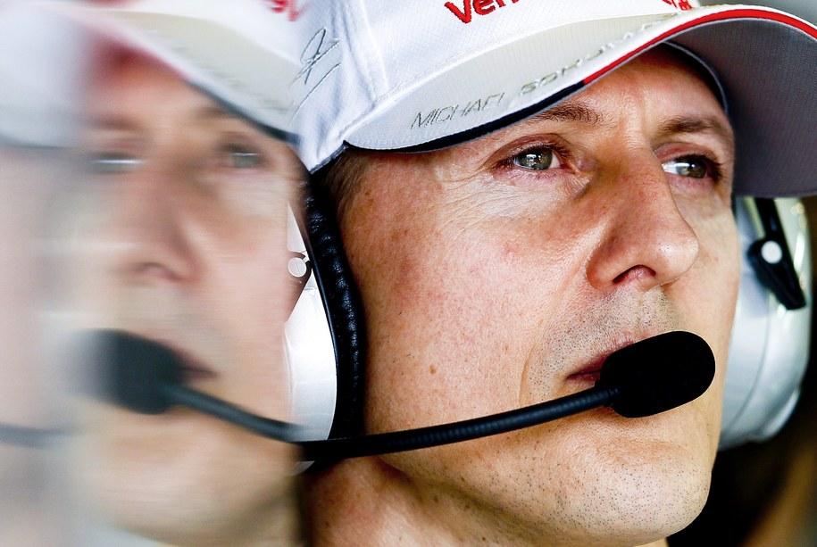Michael Schumacher /DIEGO AZUBEL /PAP/EPA