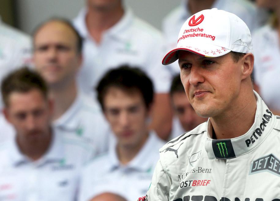 Michael Schumacher / Jens Büttner    /PAP/EPA