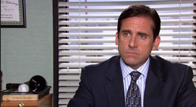 "Michael Scott (Steve Carell) z serialu ""The Office"" produkcji NBC /materiały prasowe"