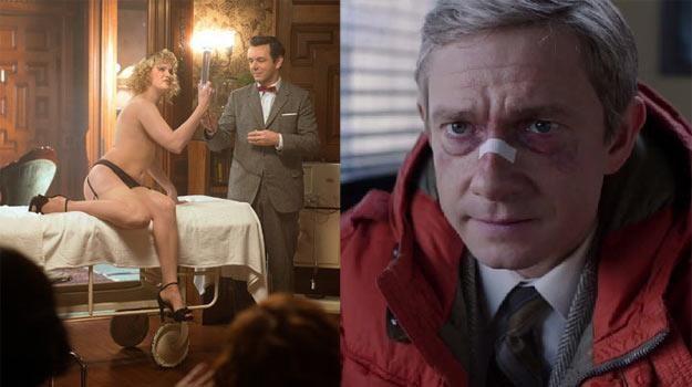 """Michael Sheen w """"Masters of Sex"""" i Martin Freeman w """"Fargo"""" /materiały prasowe"""