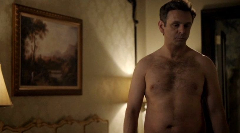 "Michael Sheen w serialu ""Masters of Sex"" /materiały prasowe"