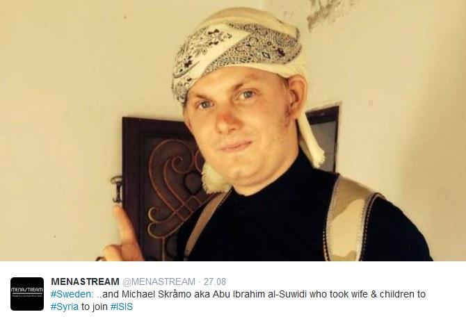 Michael Skråmo dołączył do szeregów IS /Twitter