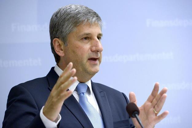 Michael Spindelegger, minister finansów Austrii /AFP