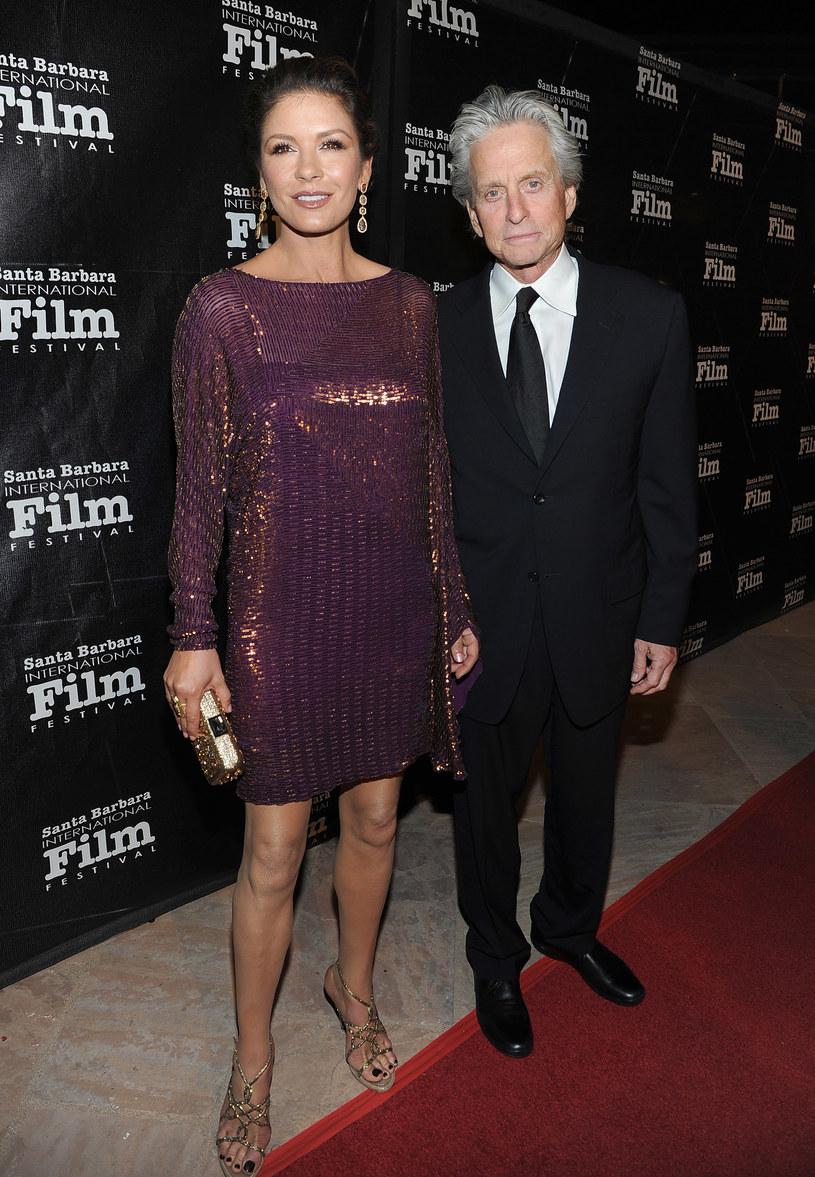 Michael wspierał żonę w ciężkich chwilach /Getty Images