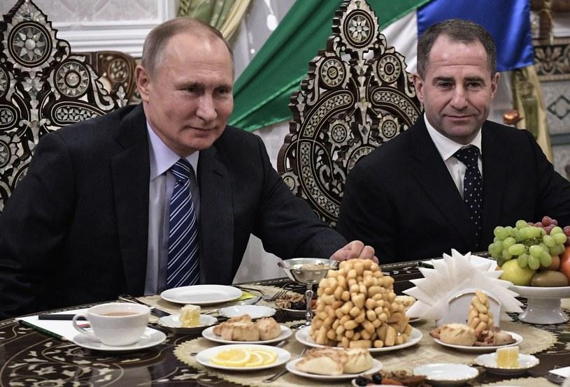 Michaił Babicz z Władimirem Putinem /AFP
