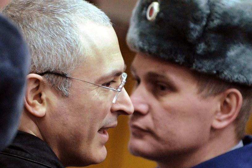 Michaił Chodorkowski, były wlaściciel Jukosu /AFP