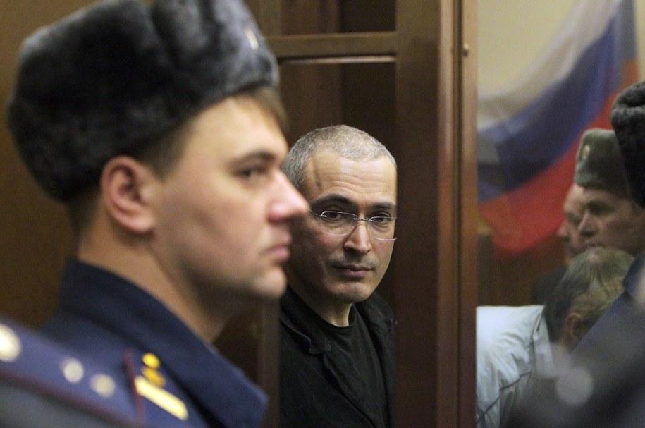Michaił Chodorkowski /MAXIM SHIPENKOV    /PAP/EPA