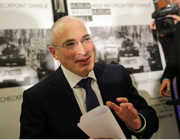 Michaił Chodorkowski /DPA/Kay Nietfeld /PAP