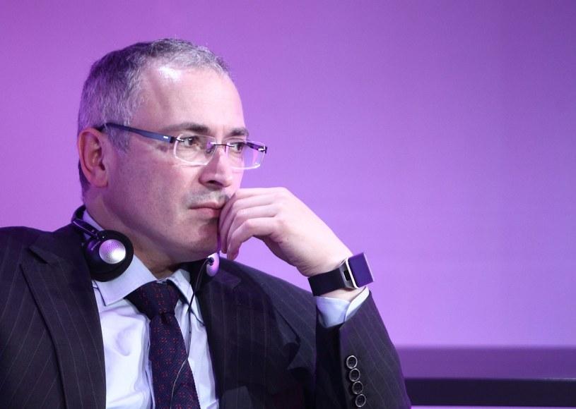 Michaił Chodorkowski /STANISLAW KOWALCZUK /East News