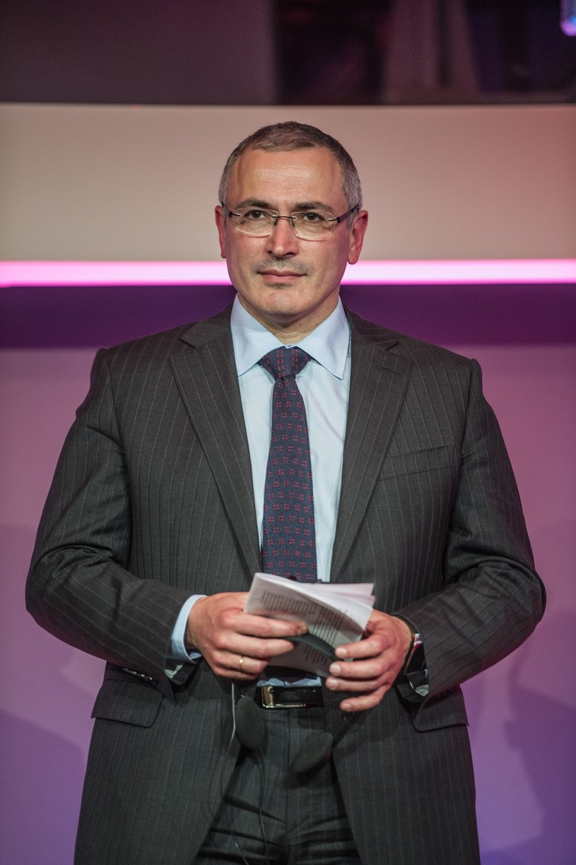 Michaił Chodorkowski /Jacek Dominski/REPORTER /Reporter
